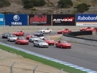 Skip Barber USA MX-5 Cup 2008/09 Rolling Start- Pole Position